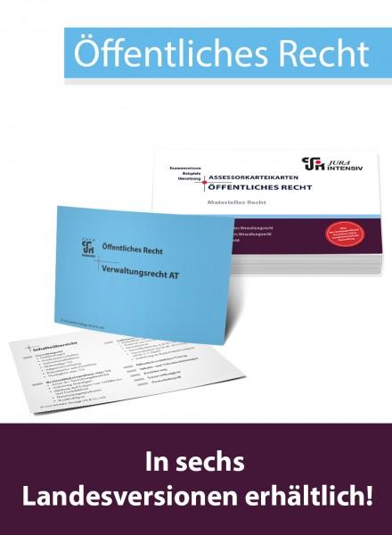 ASSEX Karteikarten ÖR Materielles Recht