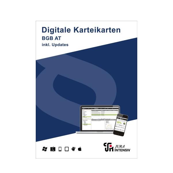 Prüfungswissen BGB AT 2.0 inkl. Updates - Digitale Karteikarten