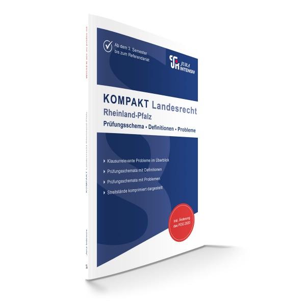 KOMPAKT Landesrecht - Rheinland-Pfalz, 3. Auflage