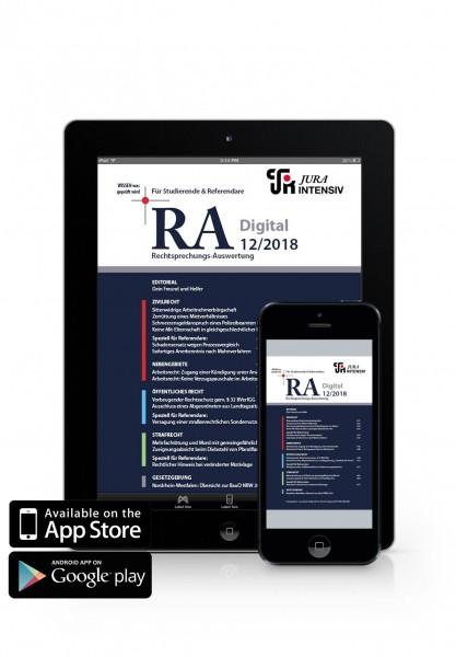 RA Digital 12/2018