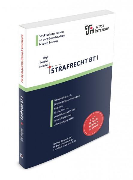 Die 5. Auflage des INTENSIV-Skriptes Strafrecht BT I