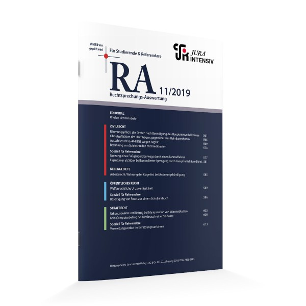 RA Ausgabe 11/2019