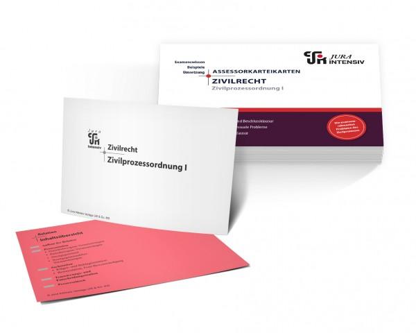 ASSEX Karteikarten Zivilrecht - ZPO I