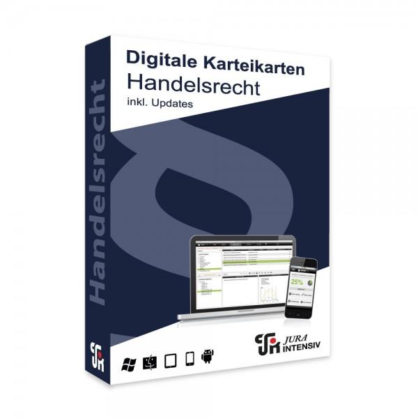 Prüfungswissen Handelsrecht 2.0 inkl. Updates - Digitale Karteikarten