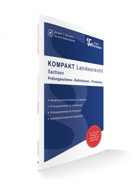 KOMPAKT Landesrecht - Sachsen, 1. Auflage