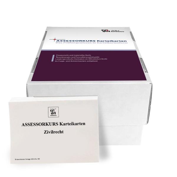 ASSESSORKURS Karteikarten - Zivilrecht, 8. Auflage