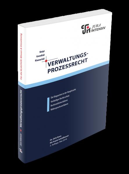 Verwaltungsprozessrecht, 3. Auflage