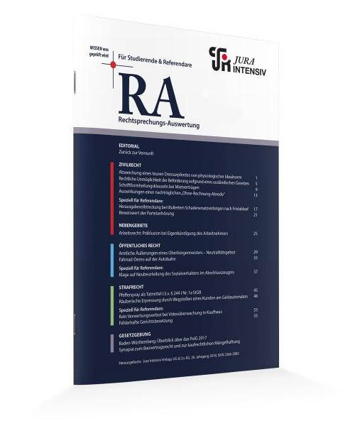 RA Printausgaben 2017