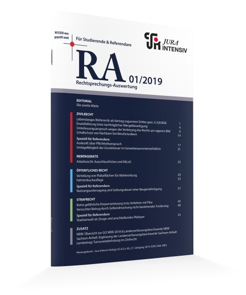RA Printausgaben 2019