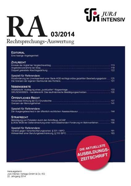 RA Ausgabe 03/2014