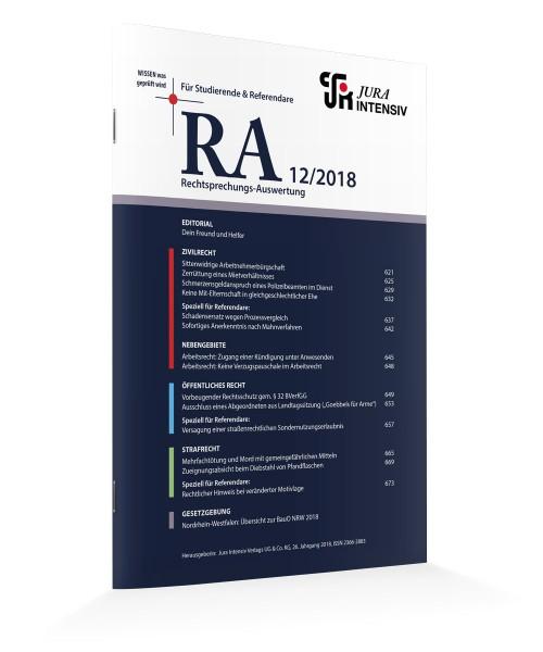 RA Ausgabe 12/2018
