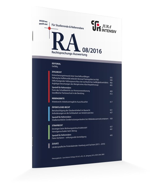 RA Ausgabe 08/2016