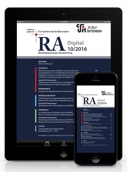 RA Digital 10/2016