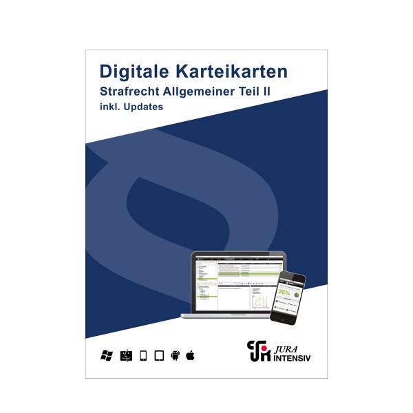 Prüfungswissen Strafrecht AT II 2.0 inkl. Updates - Digitale Karteikarten