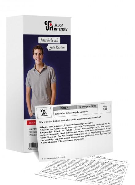 Nachkaufset für EXAMENSKURS Karteikarten - Hessen