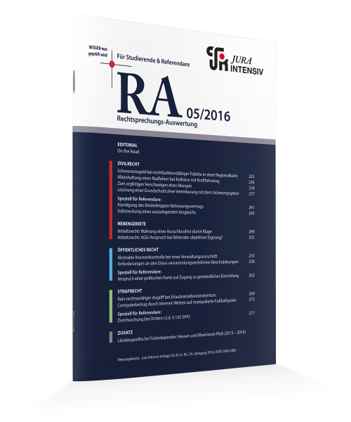 RA Ausgabe 05/2016