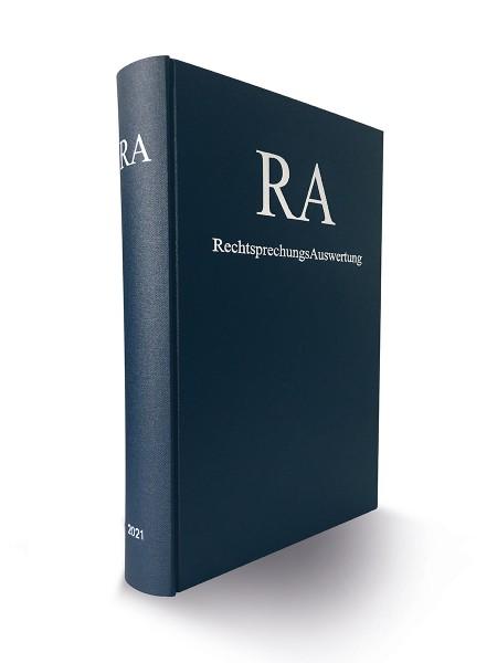 RA Jahresausgabe 2021 (limitierte Ausgabe)