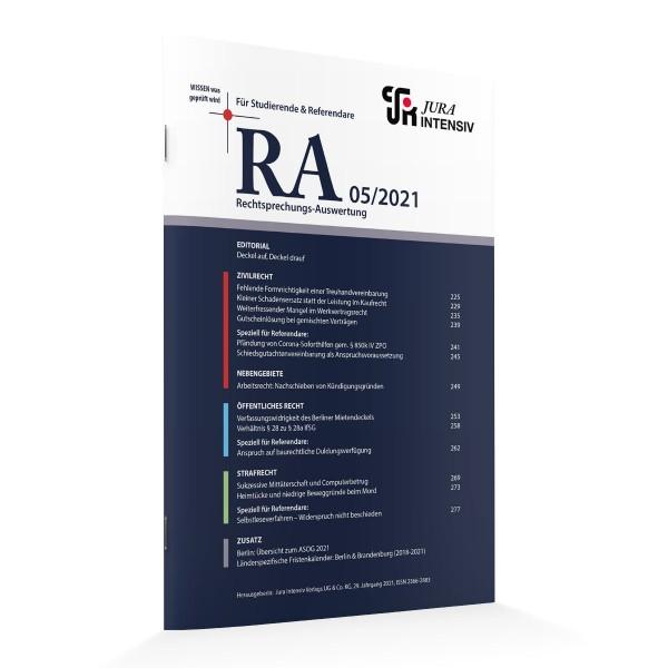RA Printausgabe 05/2021