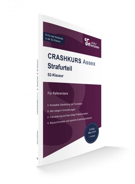 Crashkursskript Assex Strafurteil für Referendare