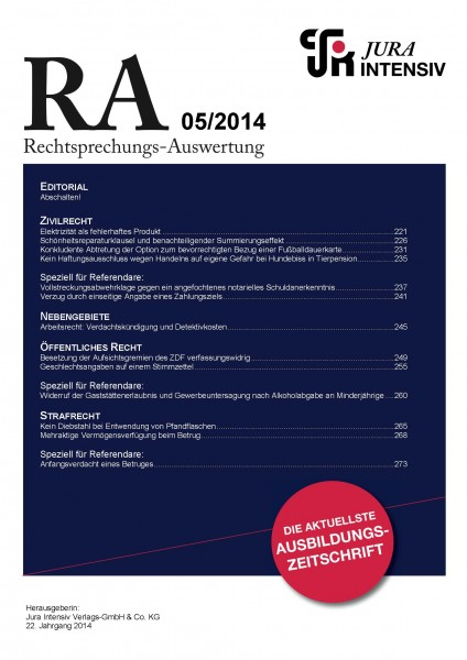 RA Ausgabe 05/2014