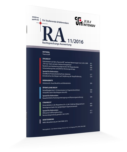 RA Ausgabe 11/2016