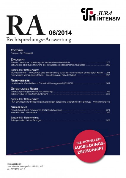 RA Ausgabe 06/2014