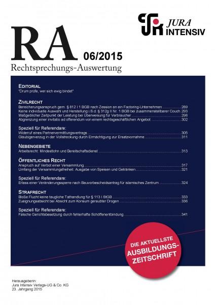 RA Ausgabe 06/2015