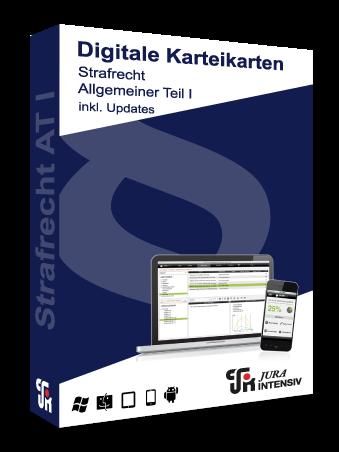 Prüfungswissen Strafrecht AT I 2.0 inkl. Updates - Digitale Karteikarten
