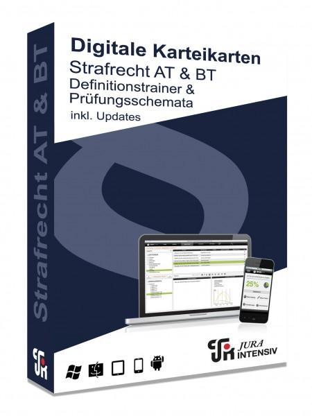 Definitionstrainer und Prüfungsschemata Strafrecht 2.0 inkl. Updates - Digitale Karteikarten