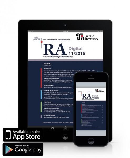 RA Digital 11/2016