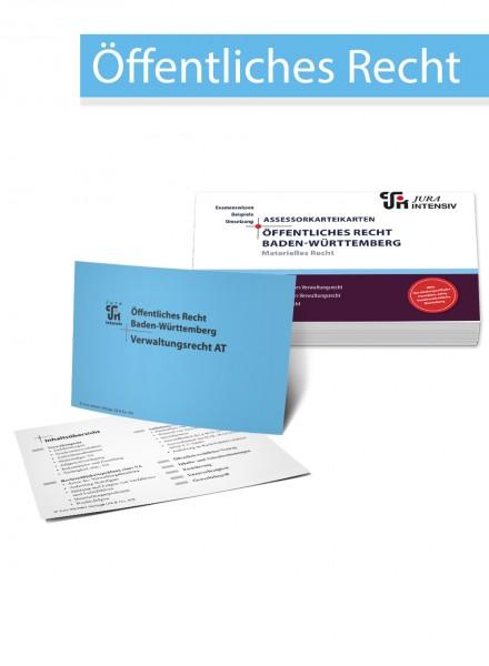 ASSEX Karteikarten Öffentliches Recht Baden-Württemberg - Materielles Recht